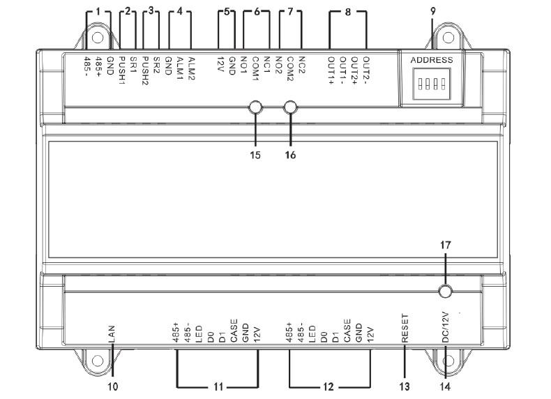VÝPRODEJ - TAC-10 IDF/C + VARNET 50 - Docházkový terminál, čtečka otisků, wifi, dotyk. obrazovka, software pro 50 osob