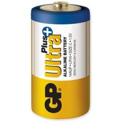 Monočlánková GP Ultra Plus Alkaline - Baterie C pro sirény SR120 a SR130.