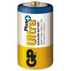 Monočlánková GP Ultra Plus Alkaline - Baterie D pro venkovní sirénu SR150.