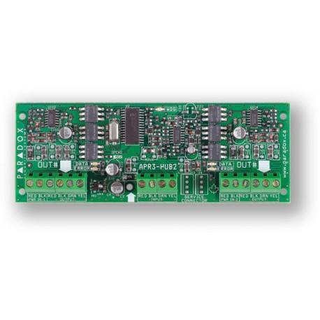 PARADOX HUB2 - posilovač sběrnice BUS (0702-209)
