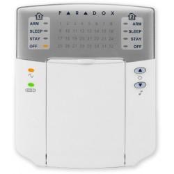PARADOX - K32+ - LED klávesnice, 32 zón