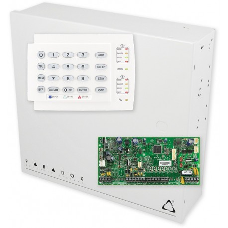 PARADOX set SP5500 + BOX S-40 + K10 - H