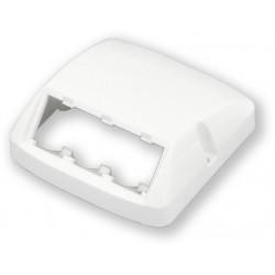 PANDUIT MCOM-AT3AW - prázdná zásuvka Mini-com, 3 moduly, bílá