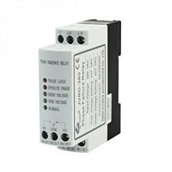 JVRD-380 - Relé pro monitoring správného pořadí fází, 3x400V 50Hz