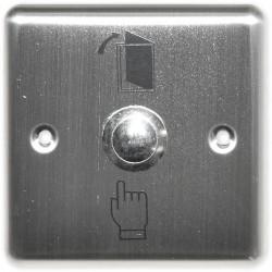 BT-004 - Odchodové nerezové tlačítko pro zápustnou montáž