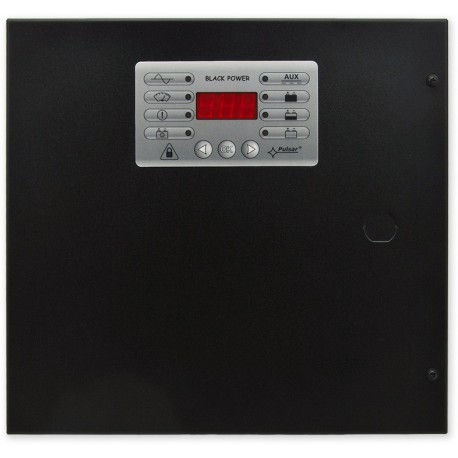PS-BOX-13V5A18Ah+LCD - zálohovaný zdroj v boxu s detekcí poruch