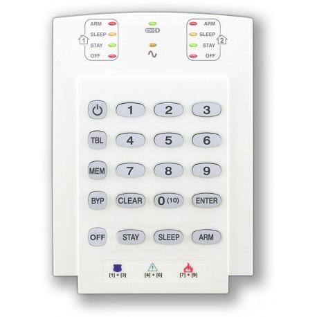 PARADOX K10 - V - (0702-085) - LED klávesnice 10 zón, vertikální