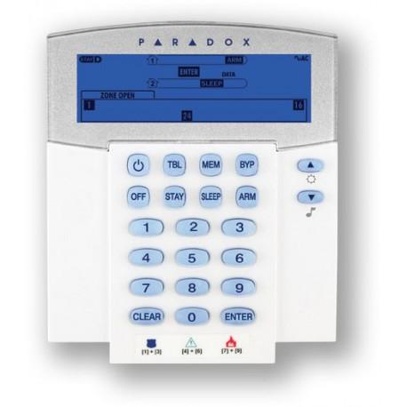 PARADOX K37 - 868 - bezdrátová ICON LCD klávesnice