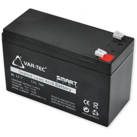 SMART SM7,0 - Akumulátor bezúdržbový 12V/7,0Ah