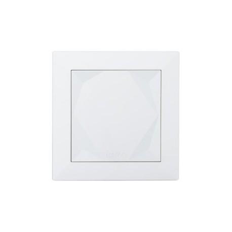 LOXONE Touch Tree - pětice tlačítek v komfortním provedení, kapacitní snímání, bílé provedení