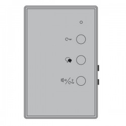 XtendLan DPP-D204 - Audio telefon, handsfree, kompatibilní s 2drátovým systémem
