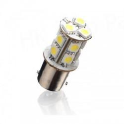 BA15S-12 - LED auto žárovka 12V BA15S 13SMD5050 2,6W