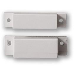VAR-TEC SM-35 - (0701-050) - bílý, povrchový, šroubovací magnetický kontakt, 2vodič