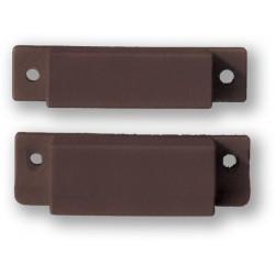 VAR-TEC SM-35 - (0701-051) - hnědý, povrchový, šroubovací magnetický kontakt, 2vodič