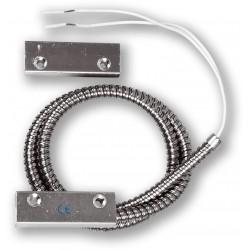MET-200 - povrchový, masivní magnetický kontakt, 2vodič