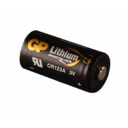 Baterie CR123A- GP Lithium- pro požární detektor SD360