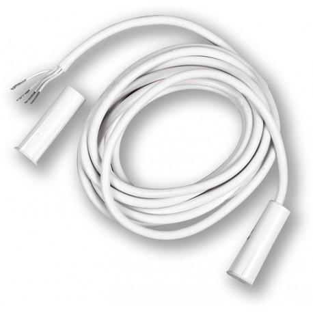 TAP-20T - bílý, závrtný magnetický kontakt, 4vodič