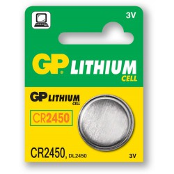 Baterie TYP 2450, GP lithium (0702-159) - pro mini-magnet DCT2