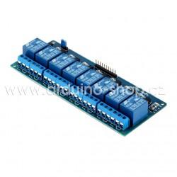 Arduino relé modul 8 kanálů s optickým oddělením