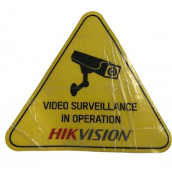Samolepka - Video Surveillance in operation - Hikvision