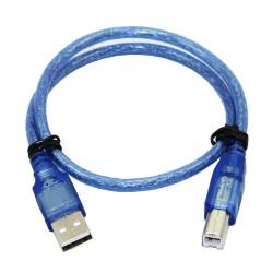 YANL USB A-B - Propojovací datový kabel USB 2.0, 20cm