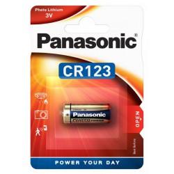 Panasonic Lithiová baterie Power CR123, 3V
