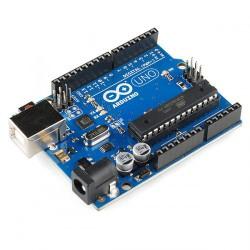Arduino Uno Rev3 - mikrokontrolérová vývojová deska založená na ATmega328