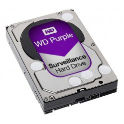 HDD 6TB - WESTERN DIGITAL PURPLE 6TB 64MB CACHE