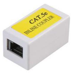 spojka Inline Coupler CAT5E -AC-110 IC C5E - bílá