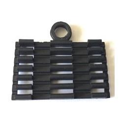 LAN-TEC OPK-050 (0907-101) - držák ochran sváru, 6 pozic, černá