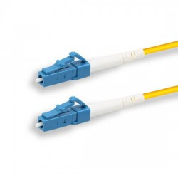 LAN-TEC OPC-560 - (0907-059) - Patch kabel, optický, LC-LC, 9/125, simplex, LS0H,  G.652D, průměr 2mm, 1m