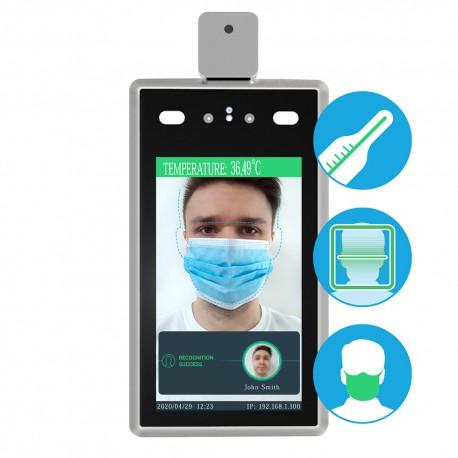 Zařízení kontroly přístupu pro rozpoznávání obličeje a měření teploty STD-2MP WM