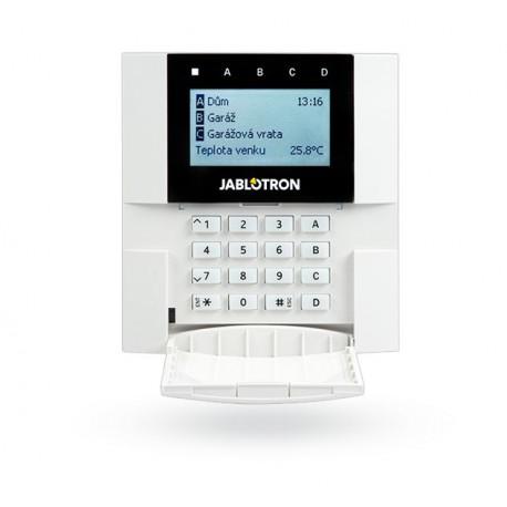 JA-150E-bezdr. příst. modul s LCD, kláv. a RFID