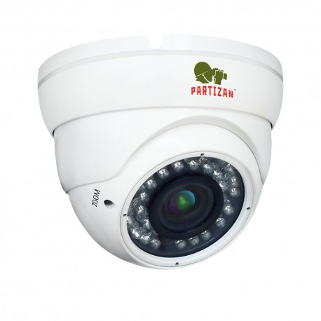 PARTIZAN - 2.0MP AHD Varifocal kamera CDM-VF37H-IR FullHD 3.5 (962)