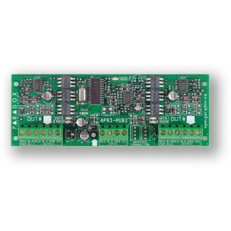 PARADOX APR-HUB2 - posilovač sběrnice BUS