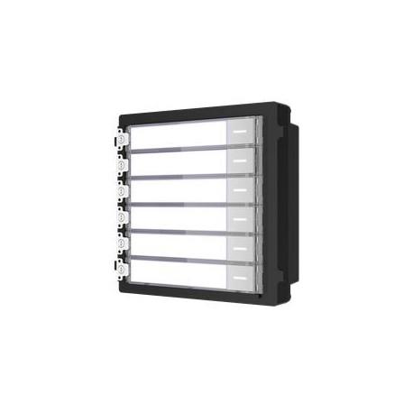 Hikvision DS-KD-KK - Modul interkomu se 6 tlačítky