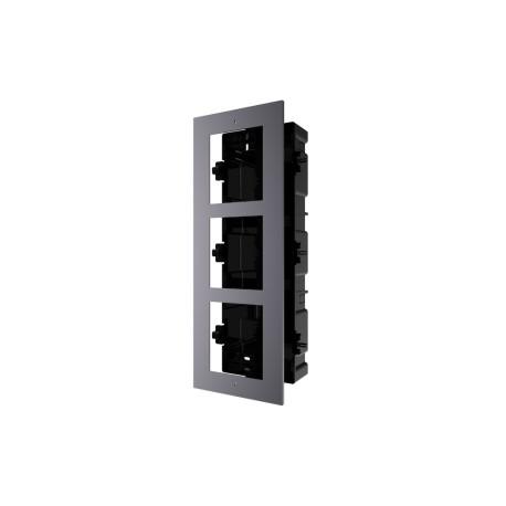 Hikvision DS-KD-ACF3 - 3-rámeček interkomu pro zápustnou montáž