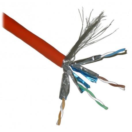 Síťový kabel PLANET FTP Cat6a 4pár 1m
