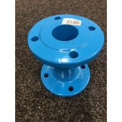 HAWLE Armatuty Přírubová tvarovka TP - FF DN 65/200 EWS modrá
