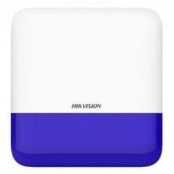 Hikvision DS-PS1-E-WE (modrá) - AX PRO Bezdrátová venkovní siréna, modrá