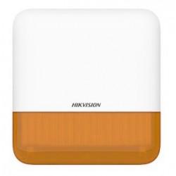 Hikvision DS-PS1-E-WE (oranžová) - AX PRO Bezdrátová venkovní siréna, oranžová