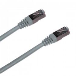Patch kabel XtendLan Cat 5e FTP 2m šedý - NETXTE3369