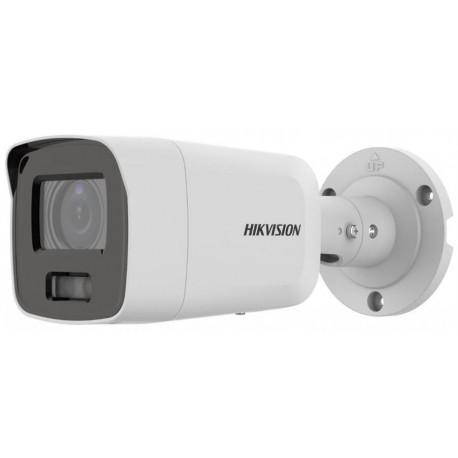 DS-2CD2087G2-LU(2.8MM) - 8MPix IP Bullet ColorVu AcuSense kamera, LED 40m, WDR 130dB,mikrofon, IP67
