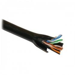 PLANET UTP Cat5e 305m (NETXTE2675) - Síťový kabel, UTP, drát, 4pár, Cat 5e, PE+PE, Dca, venkovní dvouplášť, balení 305m