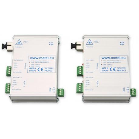 BUS BK-FIWRE-PDS - optický převodník BUS PARADOX - MM/SM-SC