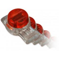 LAN-TEC AC-4 - (0703-149) - zařezávací spojka pro 3 dráty, (balení 100ks)