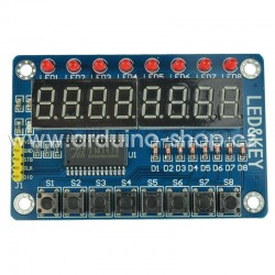 Ovládací panel TM1638 s LED (LA132027)