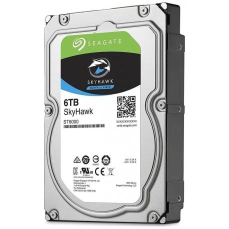 "HDD 6 TB SATA NVR RACK, Seagate SkyHawk, Pevný disk, interní, 6TB, SATA III, 3,5"", 5400 rpm, 256MB (ST6000VX001)"