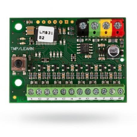 JABLOTRON JA-118M - Sběrnicový modul připojení 8 magnetů