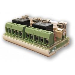 PULSAR RELE modul PU 2 - (0703-074) - přídavný RELÉ modul 2 vstupy/výstupy